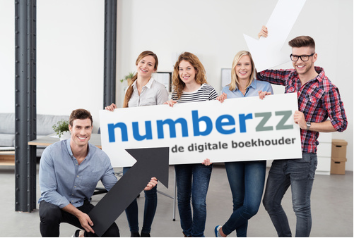 Team Numberzz met bord